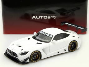 Mercedes-Benz AMG GT3 Plain Body Version 2015 weiß 1:18 AUTOart