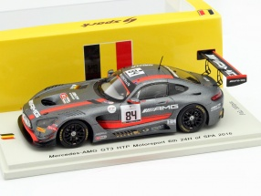 Mercedes-AMG GT3 #84 24h Spa 2016 Baumann, Jaafar, Buhk 1:43 Spark