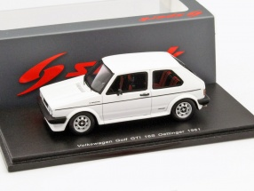 Volkswagen VW Golf GTI 16S Oettinger Year 1981 white 1:43 Spark