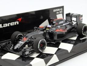 Fernando Alonso McLaren MP4-31 #14 China GP formula 1 2016 1:43 Minichamps