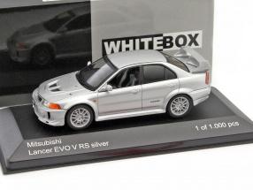 MItsubishi Lancer Evo V RS RHD silber 1:43 WhiteBox