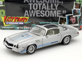 Chevrolet Camaro Z28 Fast Times at Ridgemont High 1982 silver 1:18 Greenlight