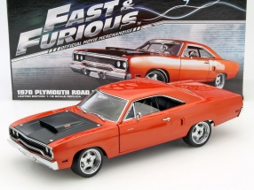 Plymouth Road Runner Fast & Furious 7 2015 copper 1:18 GMP