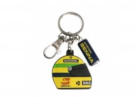 Keychains Ayrton Senna Helmet #12