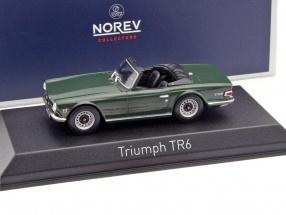Triumph TR6 Baujahr 1970 grün 1:43 Norev
