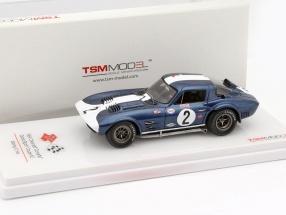 Chevrolet Corvette Grand Sport Coupe #2 12h Sebring 1964 1:43 TrueScale