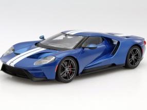 Ford GT Baujahr 2017 blau 1:18 Maisto