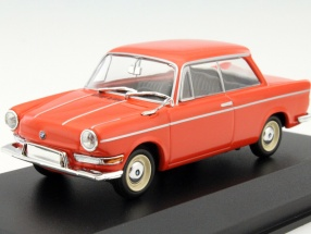 BMW 700 LS Year 1960 red 1:43 Minichamps