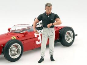 Phil Hill Fahrerfigur Formel 1 1960 1:18 LeMansMiniatures
