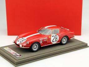 Ferrari 275 GTB #28 24h LeMans 1967 Spoerry, Steinemann 1:18 BBR