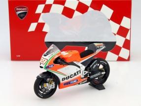 Nicky Hayden Ducati Desmosedici GP12 #69 MotoGP 2012 1:12 Minichamps