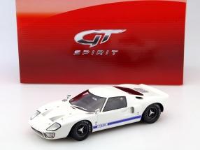 Ford GT40 MKI Baujahr 1968 weiß 1:18 GT-SPIRIT