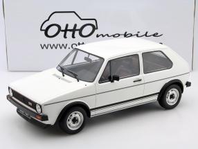 Volkswagen VW Golf I GTI 1600 Baujahr 1975 weiß 1:12 OttOmobile