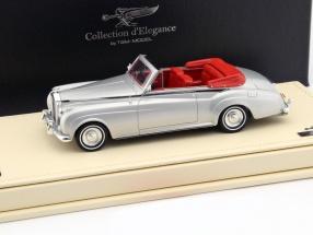 Rolls-Royce Silver Cloud Drophead Coupe Baujahr 1959 silber 1:43 TrueScale