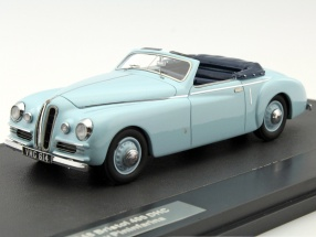 Bristol 400 DHC Pininfarina year 1948 blue 1:43 Matrix