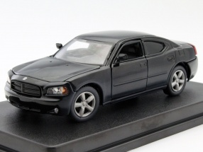 Dodge Charger Daryl Dixons Police The Walking Dead 2010 schwarz 1:43 Greenlight