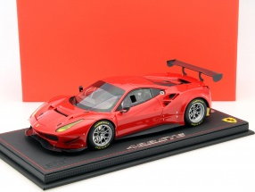 Ferrari 488 GTE Press Version 2015 rot 1:18 BBR