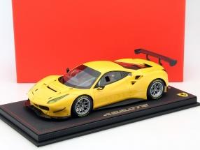 Ferrari 488 GTE Baujahr 2015 gelb 1:18 BBR