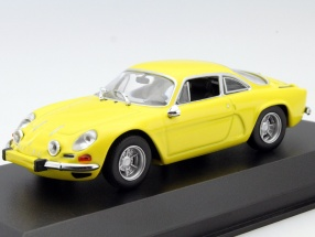 Renault Alpine A110 year 1971 yellow 1:43 Minichamps
