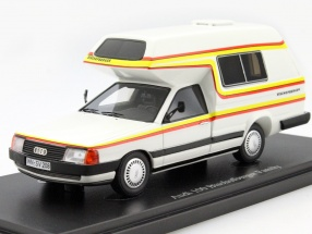 Audi 100 Bischofberger Family year 1985 white 1:43 AutoCult