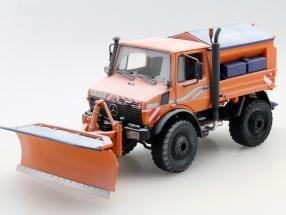 Unimog U1600 Winterdienst orange 1:32 Schuco
