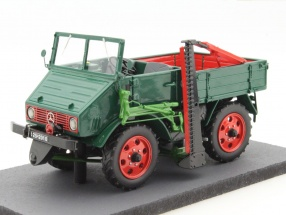 Mercedes-Benz Unimog 2010 green 1:32 Schuco