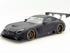 Mercedes-Benz AMG GT3 Plain Body Version 2015 schwarz 1:18 AUTOart