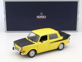 Simca 1000 Rallye 2 Baujahr 1976 gelb 1:18 Norev