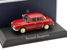 Renault Dauphine year 1963 red 1:43 Norev