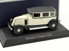 Renault Vivasix PG2 Baujahr 1928 creme / schwarz 1:43 Norev