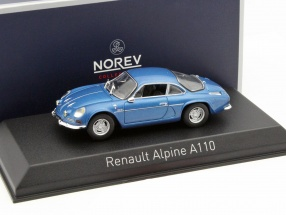 Renault Alpine A110 year 1973 blue 1:43 Norev
