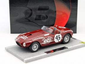 Ferrari 340 Spider Vignale #45 IV Carrera Panamericana 1953 Chinetti, De Portago 1:18 BBR