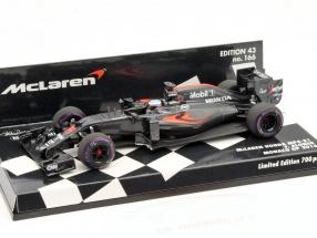Fernando Alonso McLaren MP4-31 #14 monaco GP formula 1 2016 1:43 Minichamps