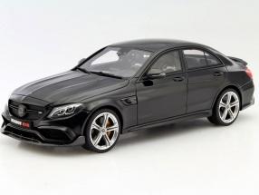 Brabus 650 Baujahr 2015 schwarz 1:18 GT-SPIRIT