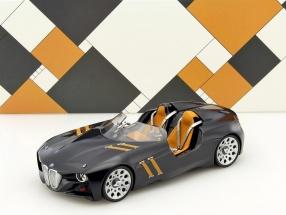 BMW 328 Hommage Spyder Baujahr 2013 schwarz 1:18 Norev