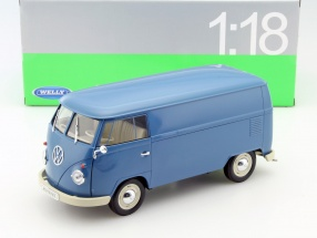 Volkswagen VW T1 Bus year 1963 blue 1:18 Welly