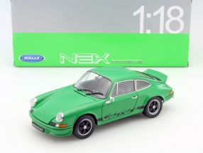 Porsche 911 Carrera RS year 1973 green / black 1:18 Welly