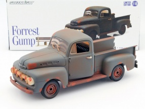 Ford F1 Pick-Up Truck Film Forrest Gump 1994 rostbraun 1:18 Greenlight