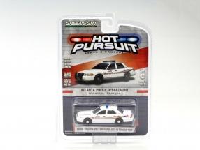 Ford Crown Victoria Police Interceptor Atlanta Police weiß 1:64 Greenlight