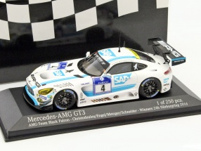 Mercedes-Benz AMG GT3 #4 Winner 24h Nürburgring 2016 AMG-Team Black Falcon 1:43 Minichamps