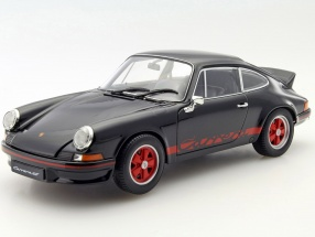 Porsche 911 Carrera RS year 1973 black / red 1:18 Welly