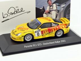 Porsche 911 GT3 #0 Rally Germany 2001 Röhrl, Geistdörfer 1:43 Spark