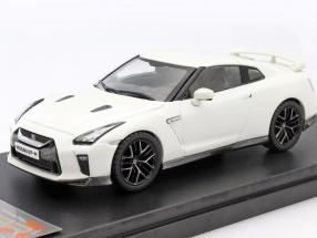 Nissan GT-R year 2017 white 1:43 Premium X