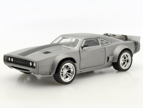 Dom's Ice Dodge Charger R/T Fast and Furious 8 silver 1:24 Jada Toys
