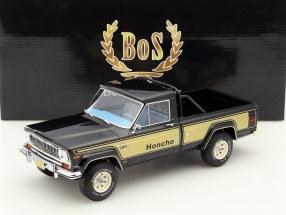 Jeep J10 Honcho year 1976 black / gold 1:18 BoS-Models