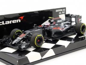 Jenson button McLaren MP4-31 #22 Australia GP formula 1 2016 1:43 Minichamps