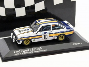 Ford Escort II RS1800 #10 rally Acropolos 1978 Vatanen,Richards 1:43 Minichamps