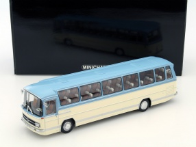 Mercedes-Benz O 302 Bus Baujahr 1965 blau / creme 1:43 Minichamps