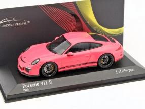 Porsche 911 (991) R Baujahr 2016 pink 1:43 Minichamps