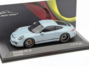 Porsche 911 (991) R Baujahr 2016 blau 1:43 Minichamps